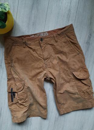 Шорты мужские коттоновые карго с боковыми карманами мужская одежда хлопок коттоновые
