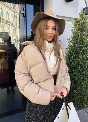 Отличная теплая женская куртка осень-еврозима