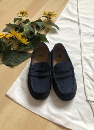 Мокасины туфли стелька 15,5 см