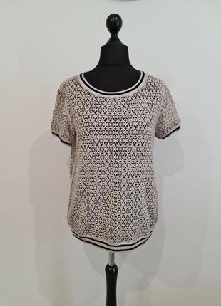 Кружевная футболка marc cain