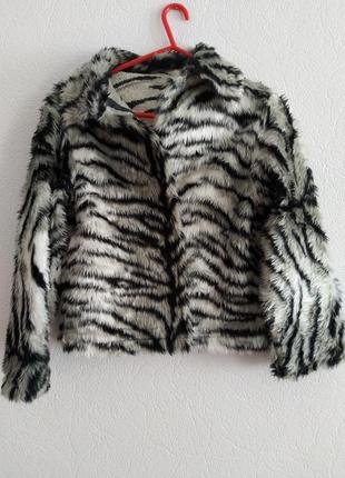 Куртка меховая, короткая