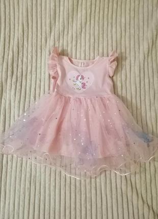 Платье р. 86-92