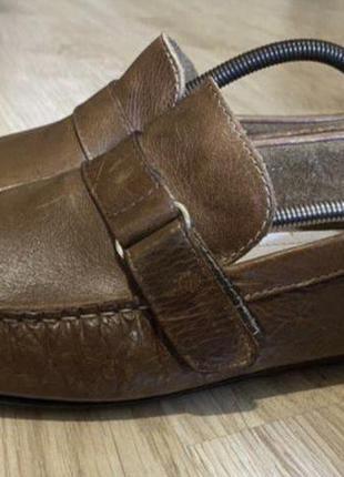 Мокасины bianco man p 44 на ногу 28 см made in portugal натуральная кожа