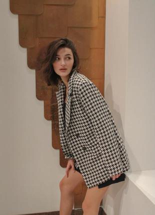 Идеальнейший твидовый пиджак в стиле stradivarius