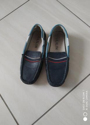 Туфлі мокасики лофери 34 розмір