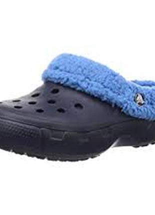 Кроксы crocs на меху размер 32-33
