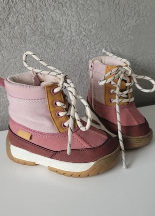 Осенние ботинки / демисезонные ботинки zara