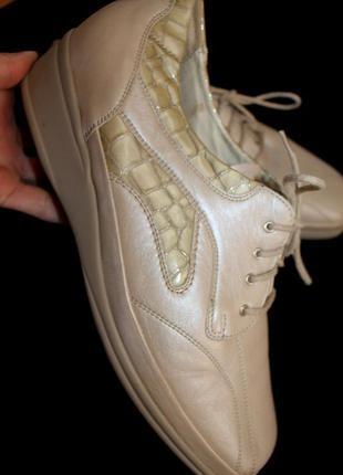 41 разм. туфли waldlaufer. кожа