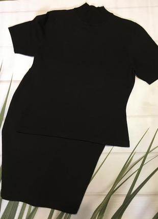Итальянський костюм с юбкой le tricot longhin