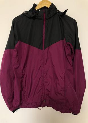 Куртка ветровка двухцветная оригинальная спортивная nike