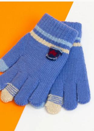 Перчатки на 6 - 7 - 8 лет зимние для мальчиков
