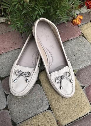 Туфли макасины из натуральной кожи footglove