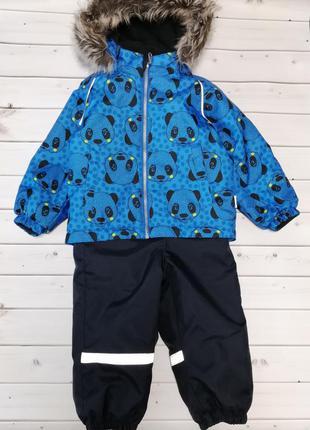 Зимний термокомбинезон курточка полукомбинезон