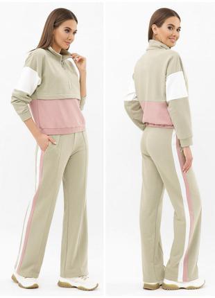 Распродажа!!! прогулочный костюм с брюками свободного кроя * отличное качество