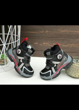 Зимние красивейшие ботинки