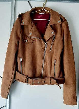 Куртка косуха под замш германия