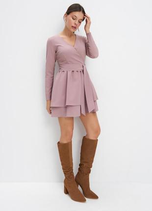 Платье плотное на осень