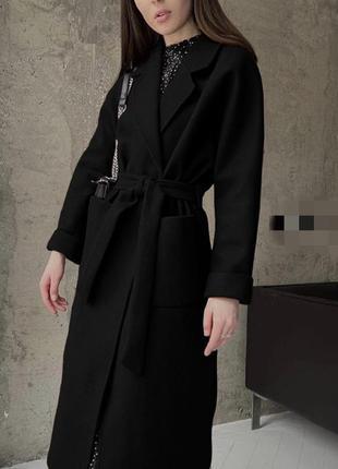 Хітове демісезонне пальто з поясом 😍 3 кольори 🌈 якість 👍