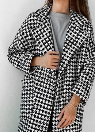 Хітове демісезонне пальто ! модний принт 😍 якість 👍