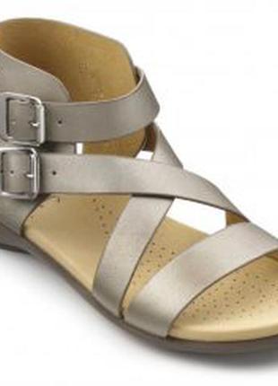 Мегаудобные мягкие кожаные босоножки/сандалии hotter
