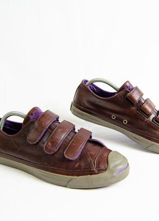 Converse jack purcell кожаные кеды оригинал! размер 43-44 28 см