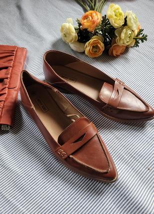 Актуальные лоферы туфли мюли
