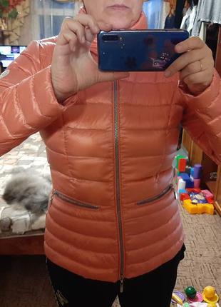Микропуховик куртка демисезонная  beaumont, размер l,  евро 40/42