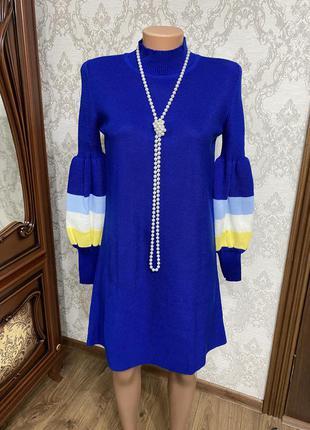 Оригінальне в'язане плаття, турція
