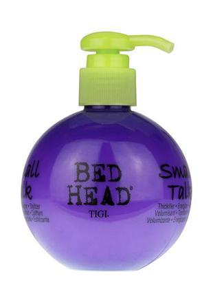 Крем для объема, текстуры и фиксации волос 3 в 1 tigi bed head small talk