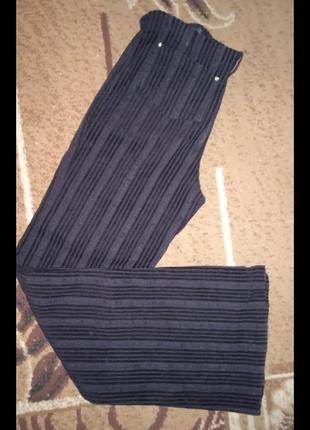 Трендовые расклешонные брюки