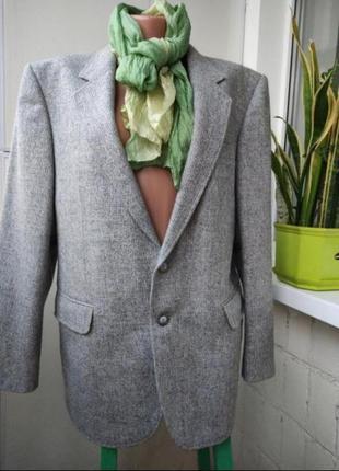 Жакет пиджак ,шерсть, на ог 96-100