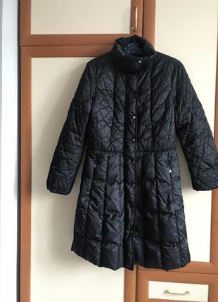Стеганное пальто marc cain