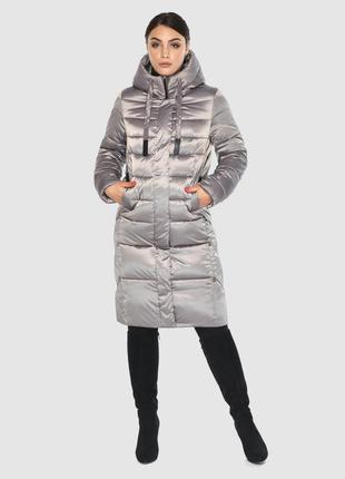 Удобная куртка кварцевая женская