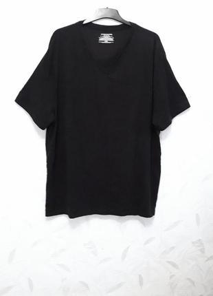 Базовая футболка батального размера из тонкого, нежного стрейчевого трикотажа из хлопка и гипоаллергенного полиэстера от amazon essentials
