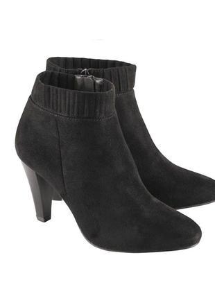 Женские замшевые ботильоны, ботинки, esmara