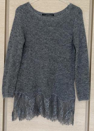 Пуловер туника размер s