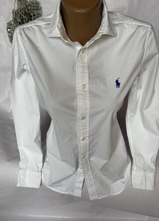 Белая базовая рубашка polo