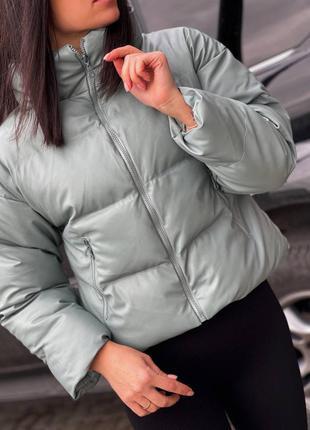 Куртка осень-зима на силиконе