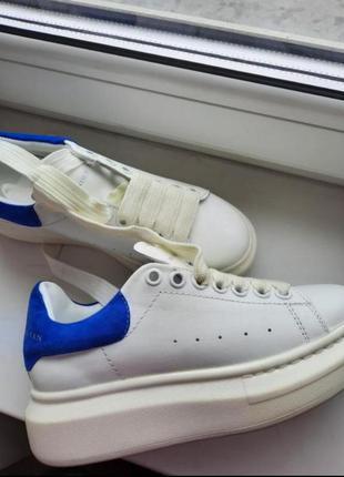 Стильні  брендові кросівки alexander mcqueen, 36р