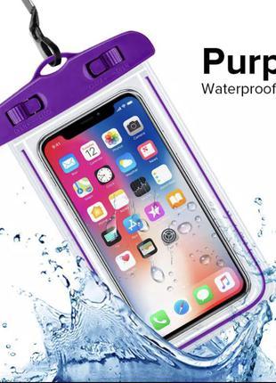 Водонепроницаемый чехол на смартфон для подводной семки. защита от влаги. проверенная фирма