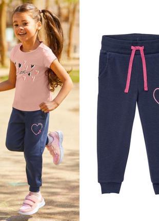 Штаны, штанишки, брюки для девочки без начёса lupilu