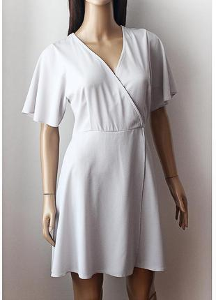 Легкое платье new look • р-р 10\38 (м)