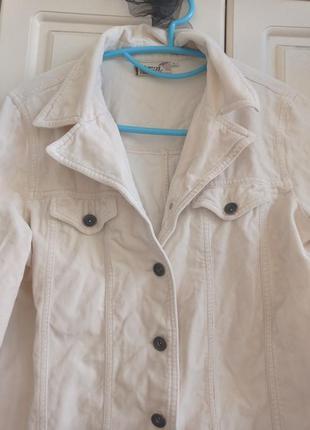 Вельветовая куртка рубашка