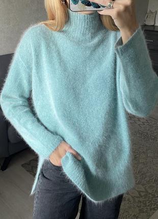 Ангоровый пушистый свитер ane mone