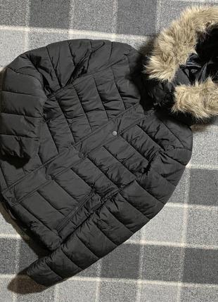 Женская чёрная куртка h&m