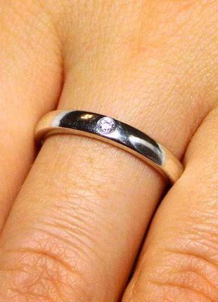 Кольцо из серебра 925 пробы. 18 р. новое с биркой.