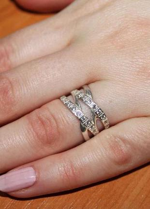 Кольцо серебро 925 проба. 17 р. новое с биркой.