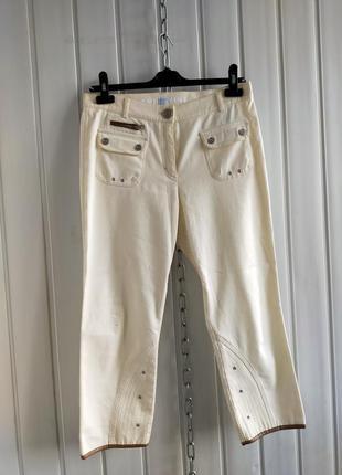 Укороченные джинсы капри кюлоты escada sport, 38
