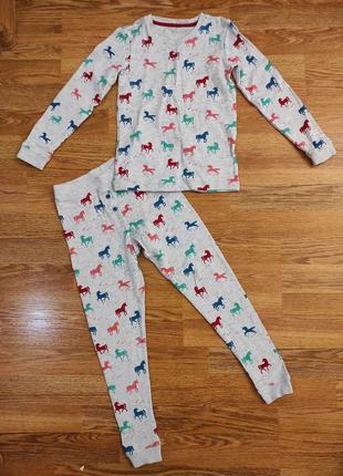 Теплая пижама поддева кофта и штаны