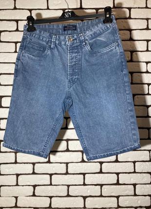 Голубые, джинсовые шорты bershka